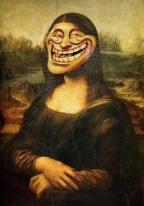 Monalisa Troll Face