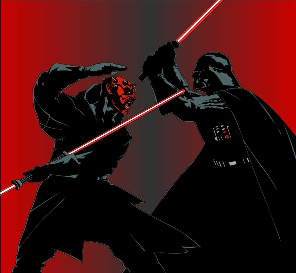 Maul v. Vader